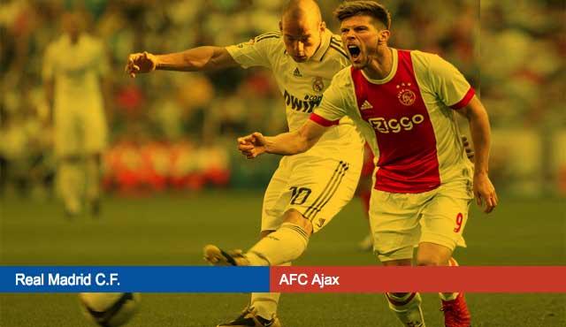 Реал Мадрид с участие в Шампионска лига осминафинал срещу отбора на Аякс