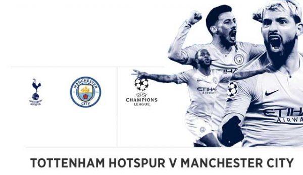 Шампионска лига, английски сблъсък Тотнъм Манчестър Сити efbet коефициенти