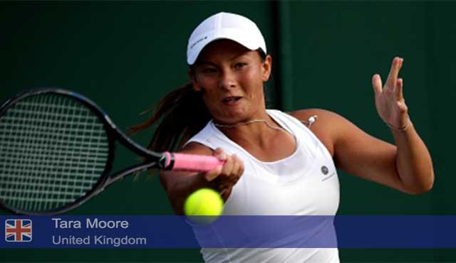Тенисистката Тара Мур с най-изумителния обрат в тенис историята