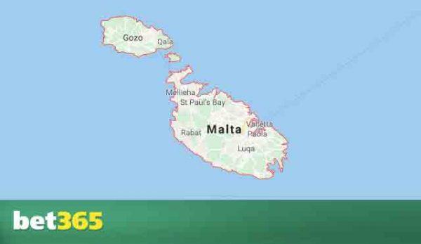 Bet365 в Малта