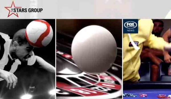 The Stars Group, PokerStars, BetStars, Fox Sport.