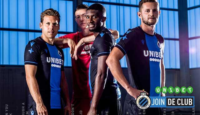 Unibet спонсор на белгийския шампион Клуб Брюж