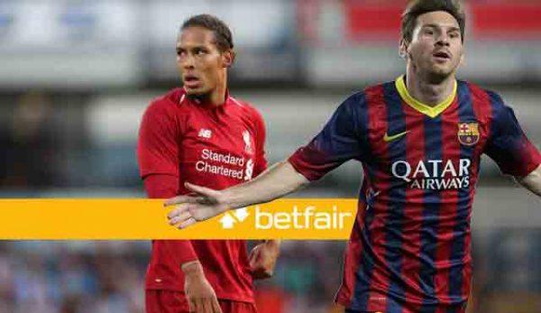 Betfair: Меси и Ван Дайк ще спорят за Златната топка