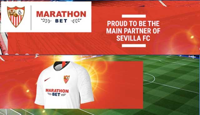Marathonbet увеличава разпознаваемостта си със спонсорство на Севиля