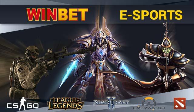 Winbet Електронни спортове: CS:GO, DOTA 2, LoL, Starcraft и още