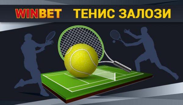 Тенис залози в Winbet
