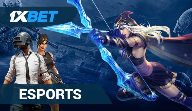 Esports в 1xBet - Dota, FIFA, League of Legends и Star Craft