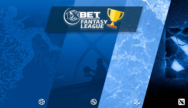 Fantasy League в 1xBet  - Съберете любимите си играчи в отбор