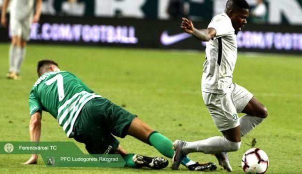 Лудогорец загуби мач от Ференцварош на Шампионската Лига
