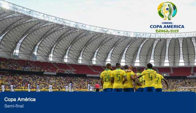 Bwin: Бразилия ще играе финал на домашната си Копа Америка