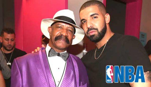 Бащата на Дрейк спечели $300,000 от финала в НБА