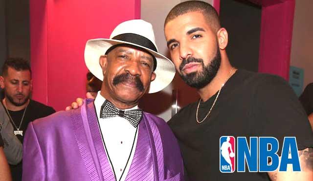 баща на рап изпълнител Дрейк, е спечелил $300,000 от свой залог за шампионска титла от (НБА)
