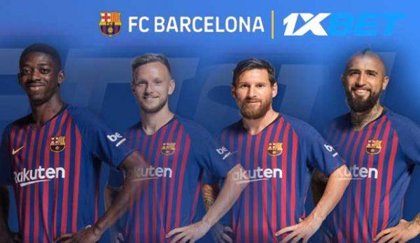 1xBet и Барселона с глобално партньорство