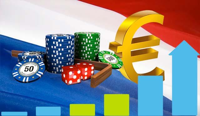 Хазартните приходи в Холандия надхвърлиха €2 млрд.