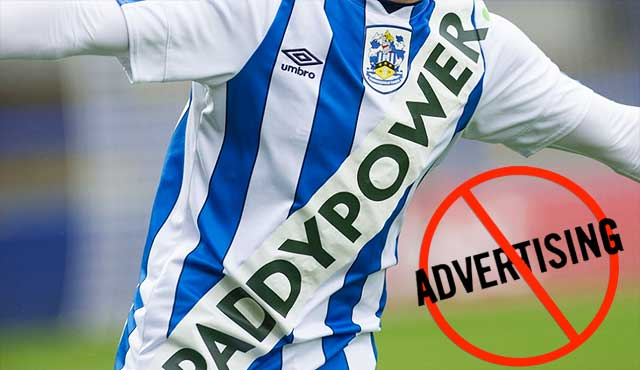 Paddy Power призова за прекратяване на рекламите върху футболни екипи