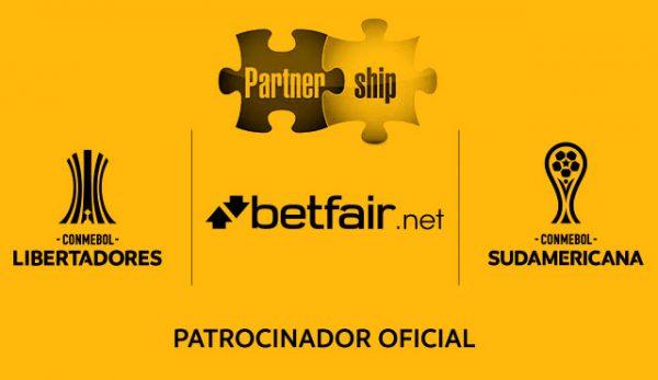 Betfair официален партньор на CONMEBOL