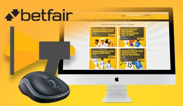 Betfair връща фокуса си върху интернет промотирането след забраната за хазартни реклами