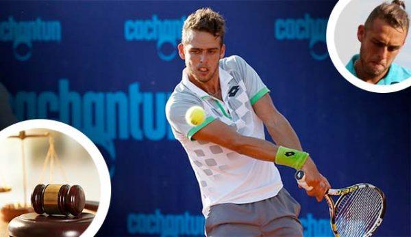 Спряха правата за 8 години на чилийски тенисист за черно тото