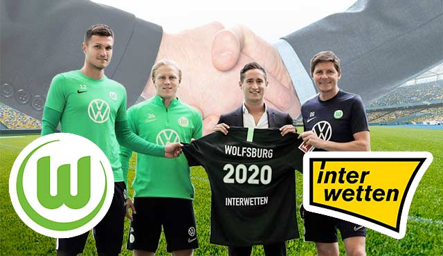 Interwetten е новият спонсор на Волфсбург