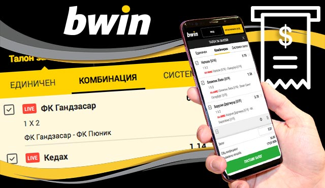 Фиш за залози на Bwin - Обяснение и възможности
