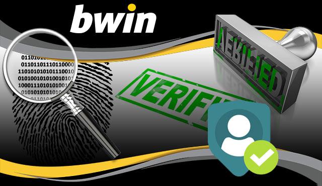Bwin верификация на акаунта