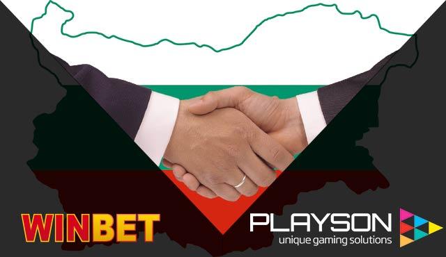 Playson с дебют в България чрез Winbet Казино