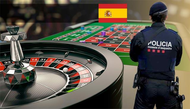 Испанската полиция с акция в хиляди зали за непълнолетни залагащи