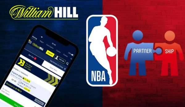 William Hill и НБА вече са хазартни партньори