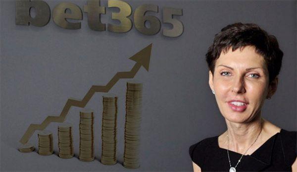 Приходите и печалбите на Bet365 продължават да растат