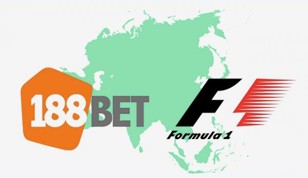 188bet спонсор на Формула 1 за Азия