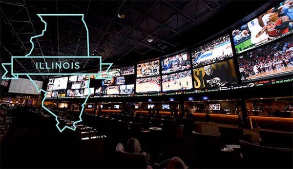 Законни спортни залози в Илинойс