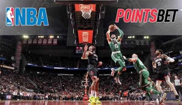 НБА партньорство с Pointsbet