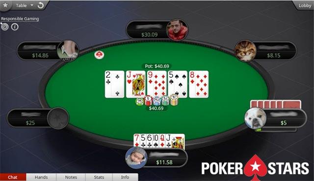 PokerStars Омаха с 6 карти