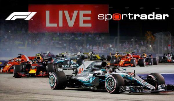 Формула 1 и Sportradar залози на живо