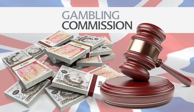 Хазартната комисия на Великобритания глоби