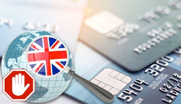 Забрана на залагания с кредитни карти Великобритания