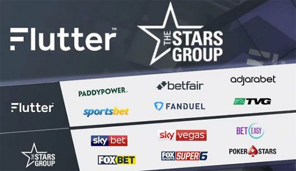 Сливане The Stars Group с Paddy Power Betfair