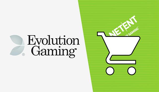 Сливане на Evolution Gaming с NetEnt