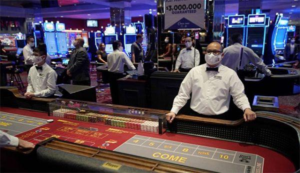 Маските станаха задължителни в казината в Лас Вегас