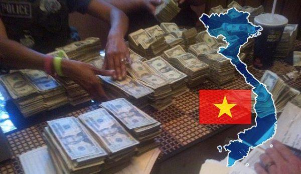 Виетнам разбита група незаконни залози