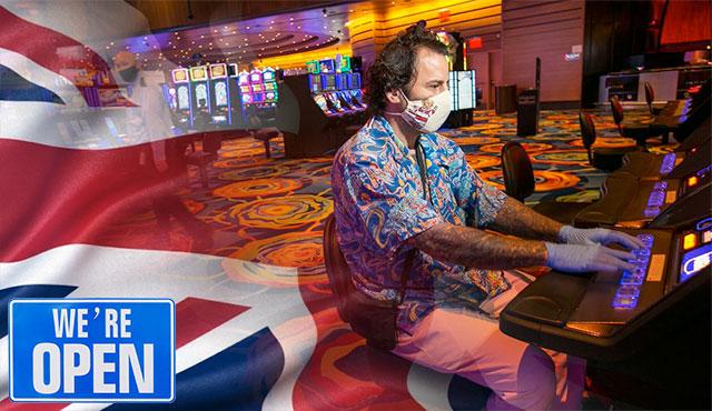Отваряне на казината в Англия