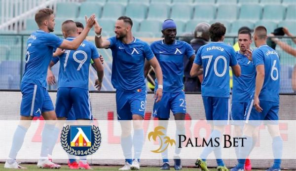 Palms Bet спонсор на Левски